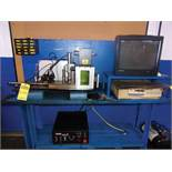 TELESIS PRODUCT IDENTIFICATION SYSTEM, ZENITH 10F 10 WATT FIBER-PULSED LASER W/ WORKBENCH