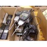 (8) BOXES OF ASSORTED INSPECTION; ASSORTED GAUGES, WORKHOLDING