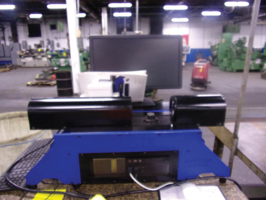 GEORGE PRODUCTS OASIS ELITE HORIZONTAL VIDEO INSPECTION SYSTEM, S/N 20210