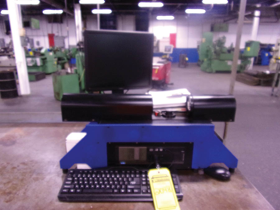 GEORGE PRODUCTS OASIS ELITE HORIZONTAL VIDEO INSPECTION SYSTEM, S/N 20233