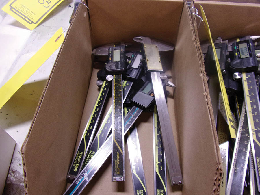 (3) BOXES WITH ASSORTED 6'' DIGITAL CALIPERS - Image 2 of 3