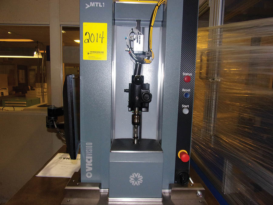 2016 VICIVISION MULTIDIMENSIONAL CHECK MEASURING SYSTEM, PC, 230/60/1, 286-LBS., S/N PM86216 (