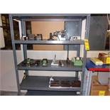 5-SHELF UNIT W/ COLLET INDEXER, WORKHOLDING, TAIL STOCKS, PRECISION SQUARE