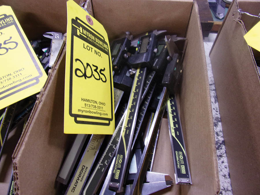 (3) BOXES WITH ASSORTED 6'' DIGITAL CALIPERS
