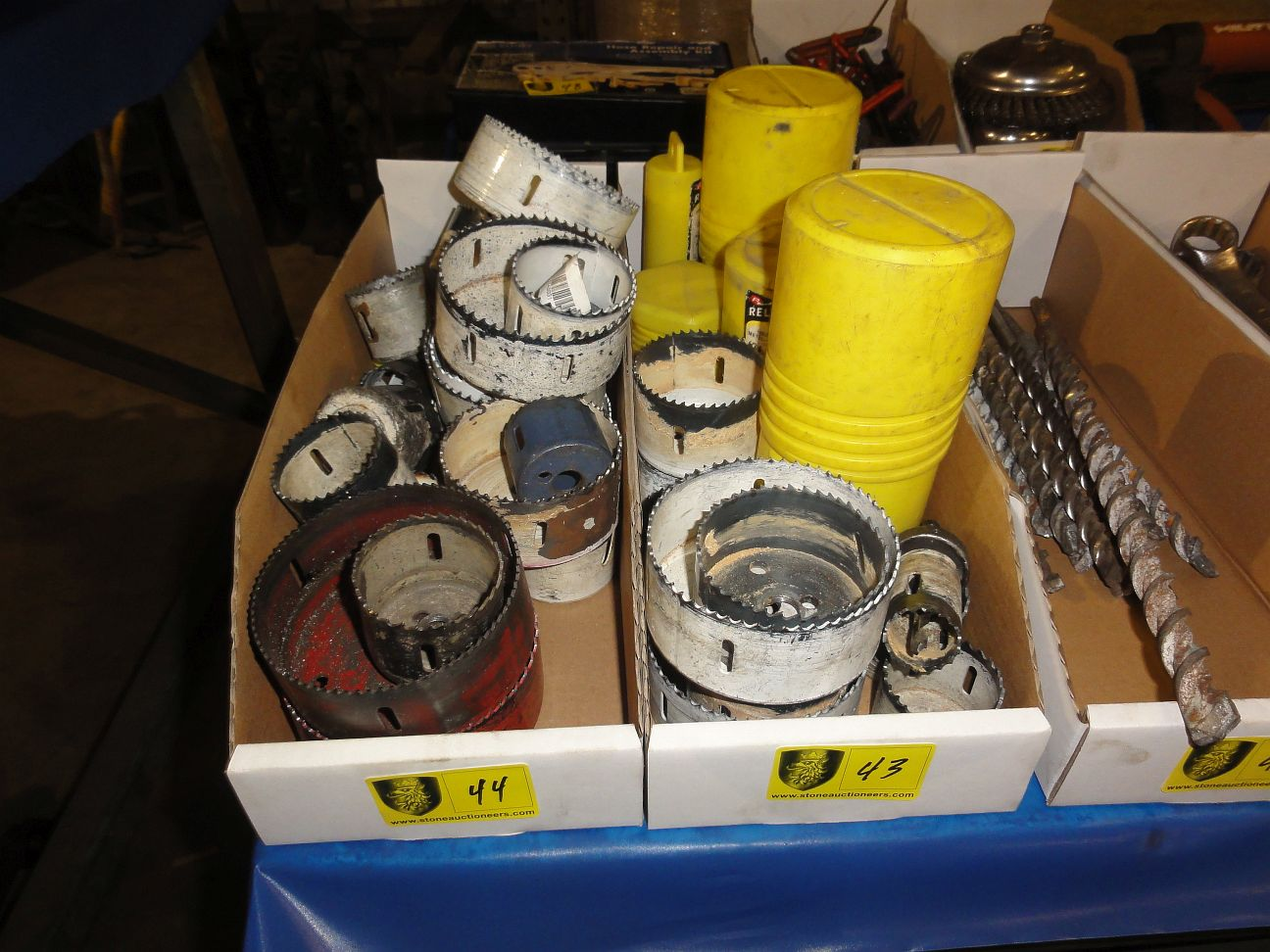 Lot 43 - Lot of Hole Saws