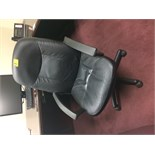 Lot 364 - Rolling Leather Office ChaIr