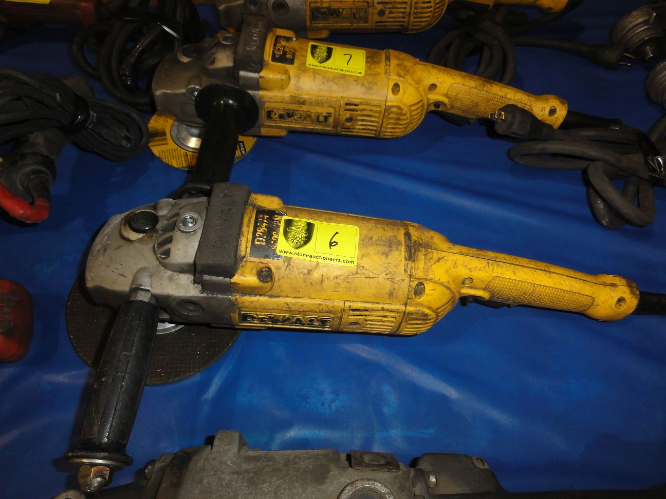 Lot 6 - DeWalt Angel Grinder