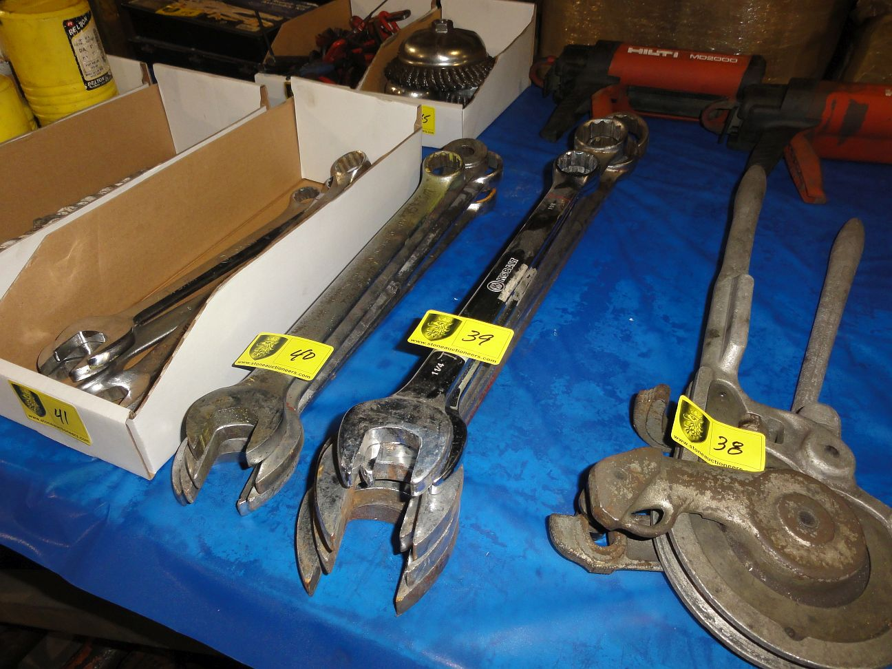 Lot 40 - Large Combination Wrenches
