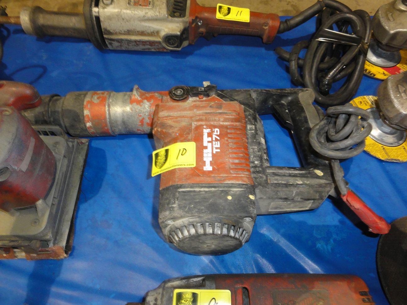 Lot 10 - Hilti TE75 Rotary Hammer Drill