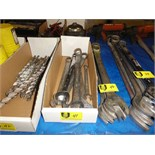 Lot 41 - Large Combination Wrenches