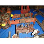 Lot 55 - Rigid Pipe Clamps