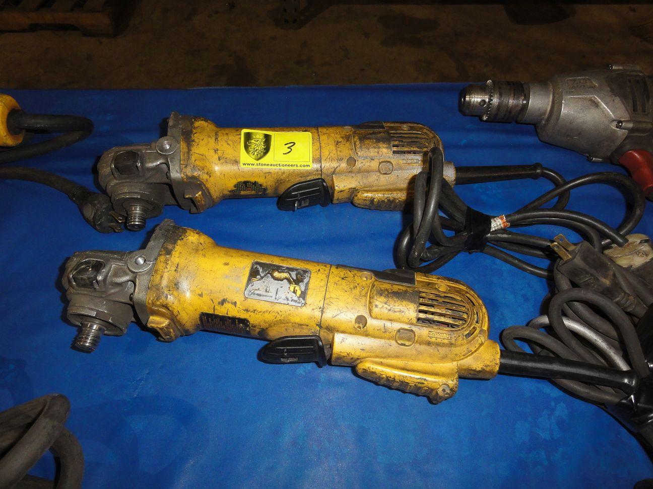 """Lot 3 - (2) 1/2"""" Drills & (1) Hammer Drill"""