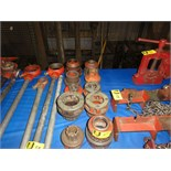 Lot 57 - Rigid Threading Heads
