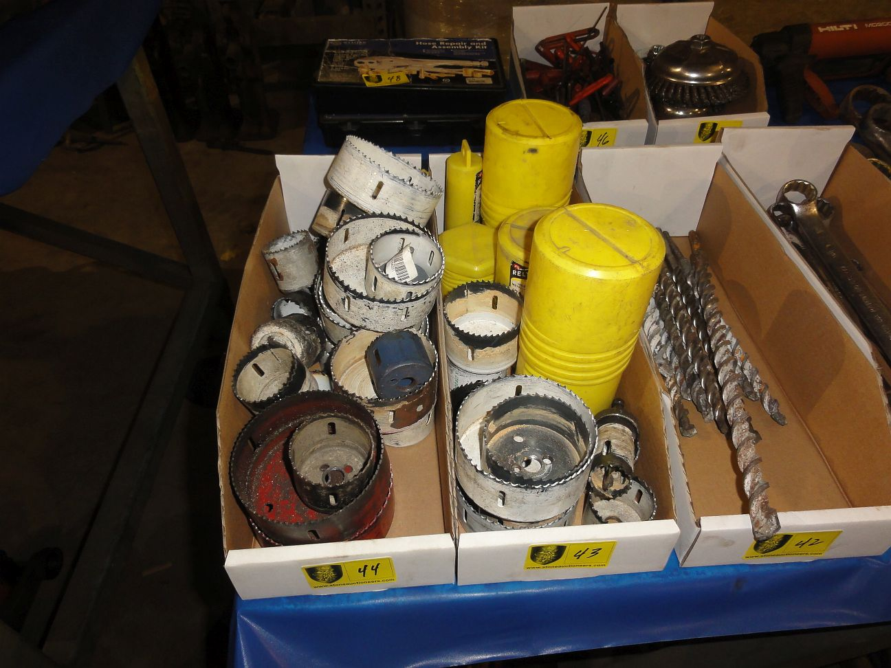 Lot 44 - Lot of Hole Saws