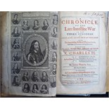 Lot 76 - Book: 'A Chronicle of the Late Inteftine War in the Three Kingdoms of England,
