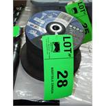 LOT/ CUTTING AND GRINDING DISKS