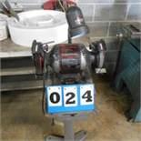 """Craftsman 1/3hp, 6"""" Double End Bench Grinder on Stand"""
