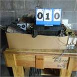 Rolling Table, Lot Used Ballast