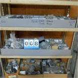 Rolling Shelf Unit Full of Elecctrical Hardware