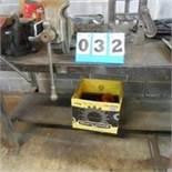 Heavy Duty Steel Table w/Misc. Hardware