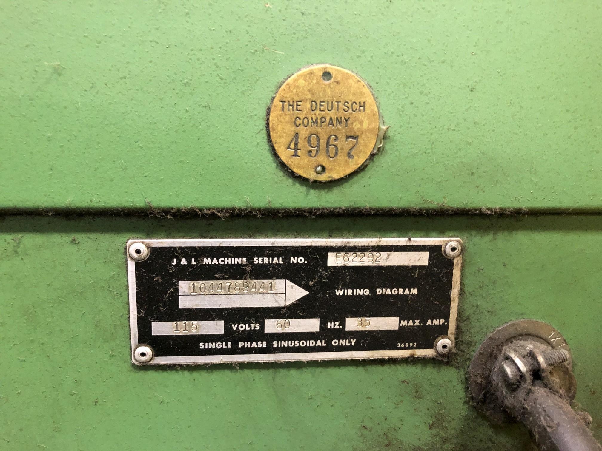 "Jones & Lamson 14"" Optical Comparator - Image 4 of 5"
