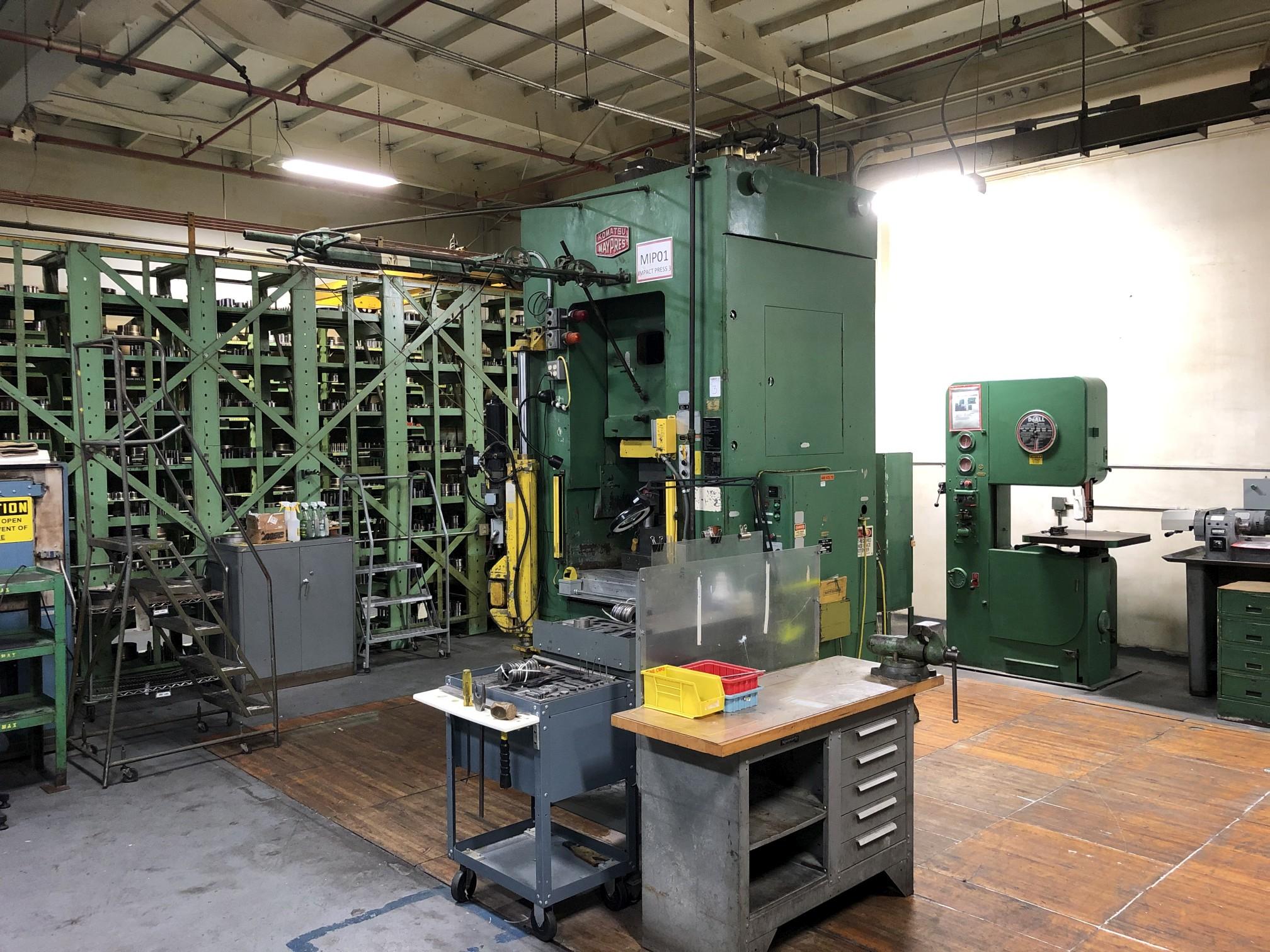 800 Ton Komatsu Maypress Knuckle Joint Press - Image 7 of 18