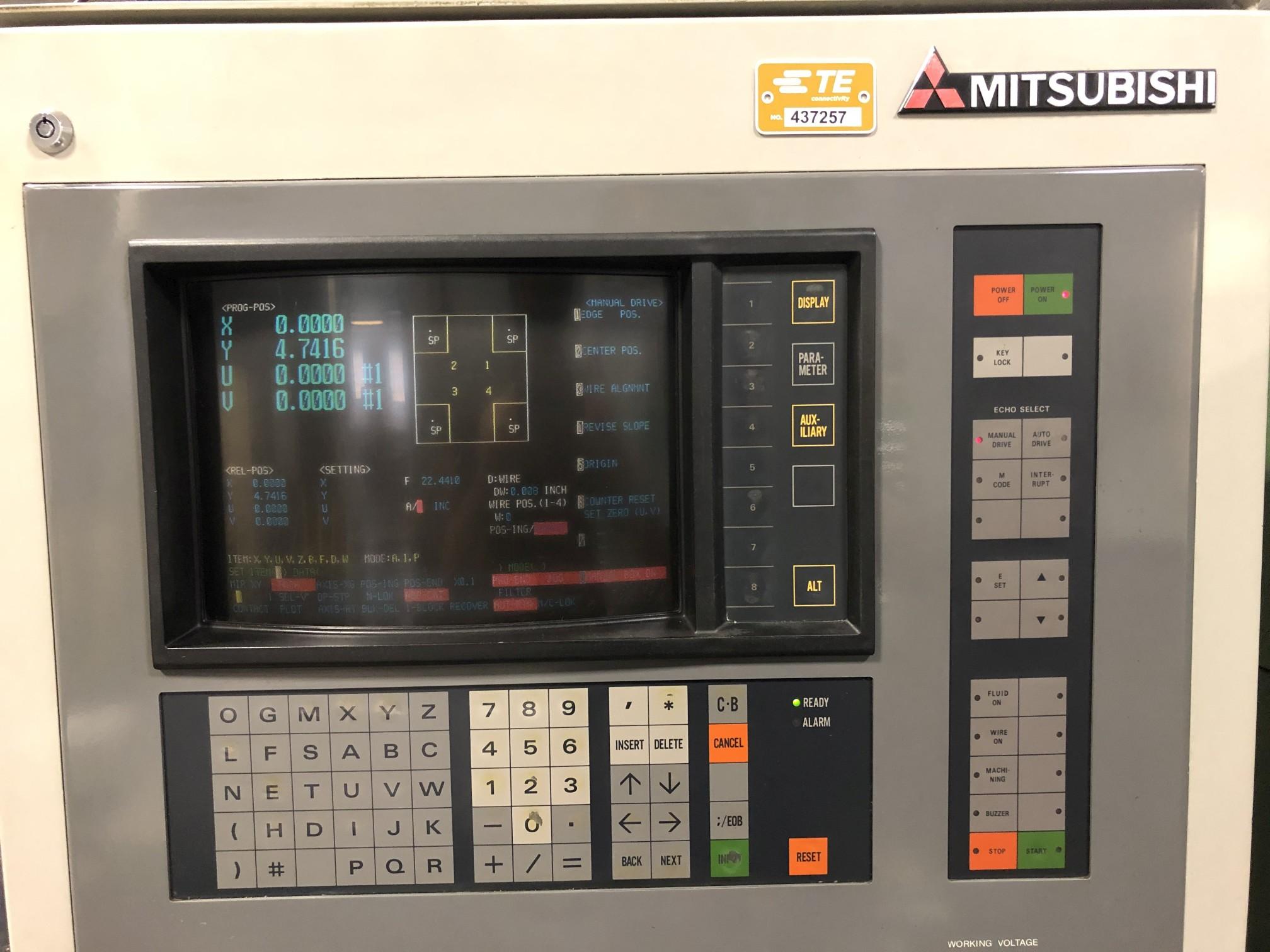 1988 Mitsubishi DWC90H CNC Wire EDM - Image 5 of 13