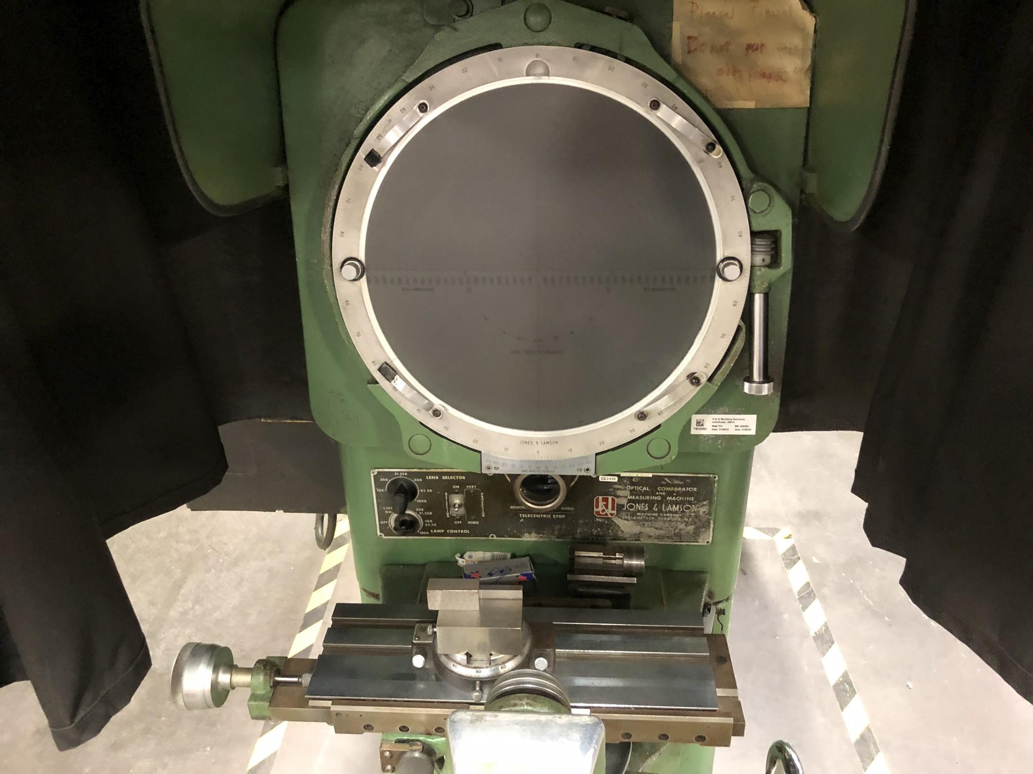 "Jones & Lamson 14"" Optical Comparator - Image 4 of 8"