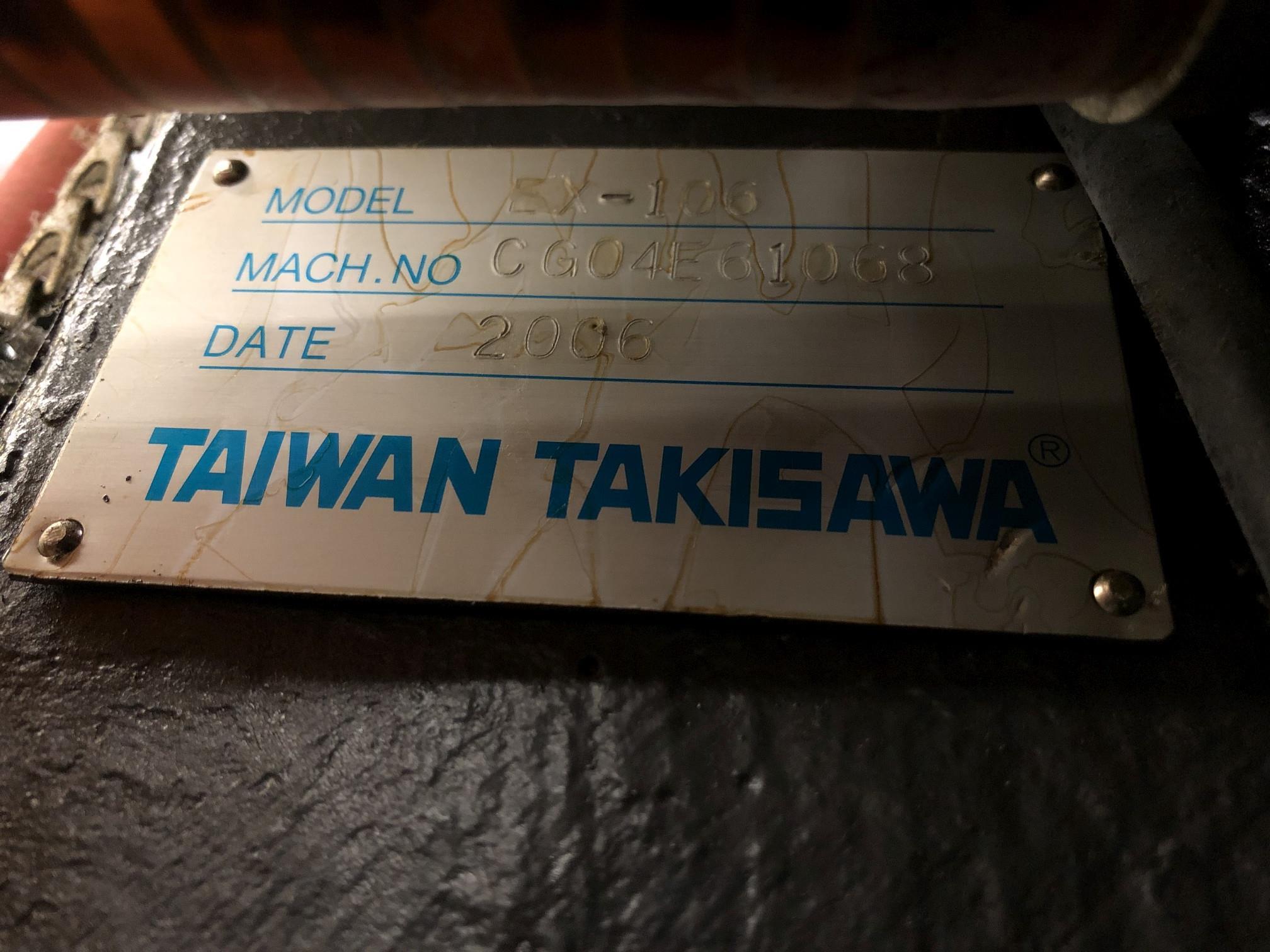 2006 Takisawa EX-106 CNC Lathe - Image 10 of 11