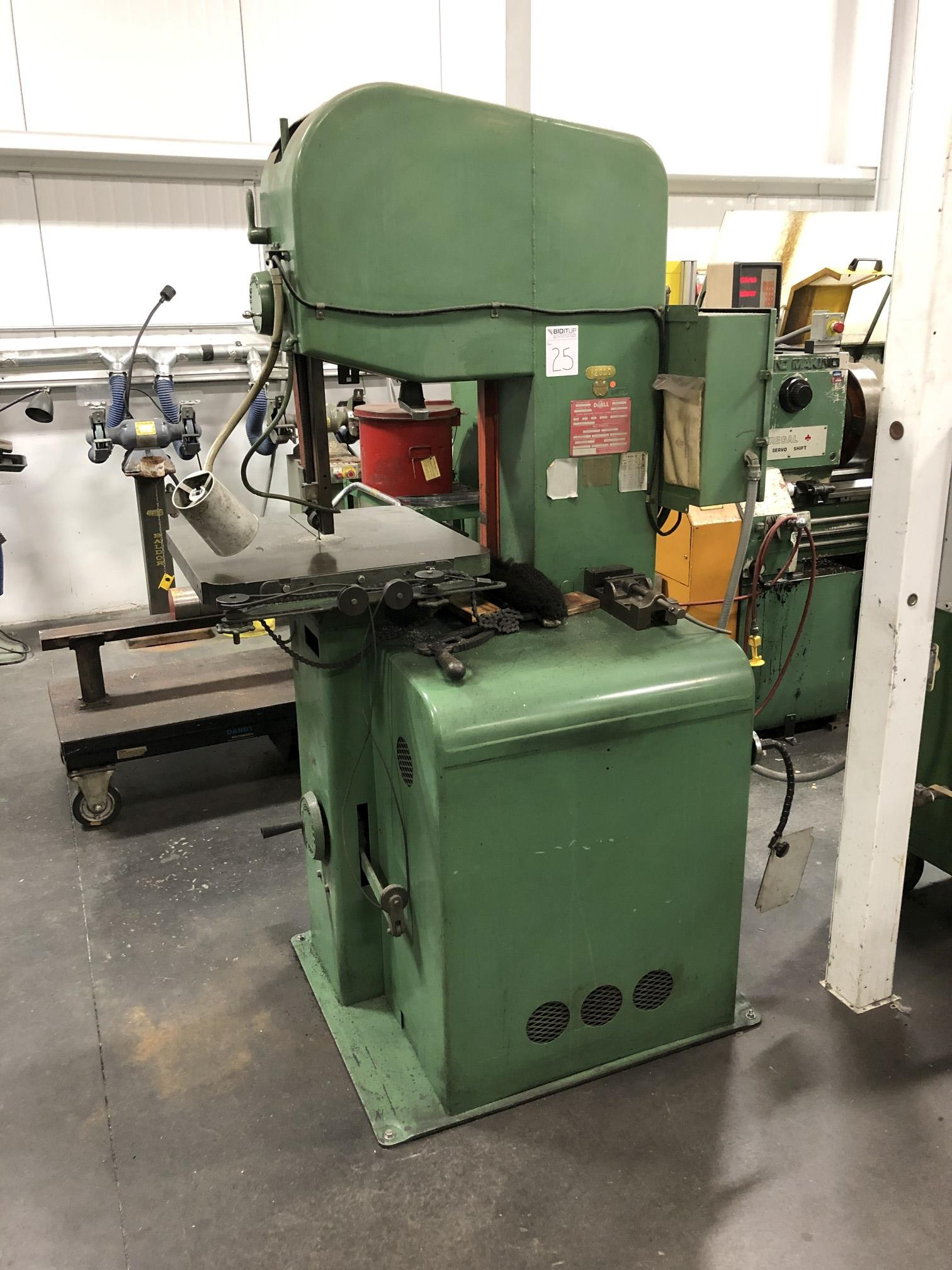 """DoAll 16"""" Vertical Band Saw - Image 3 of 4"""