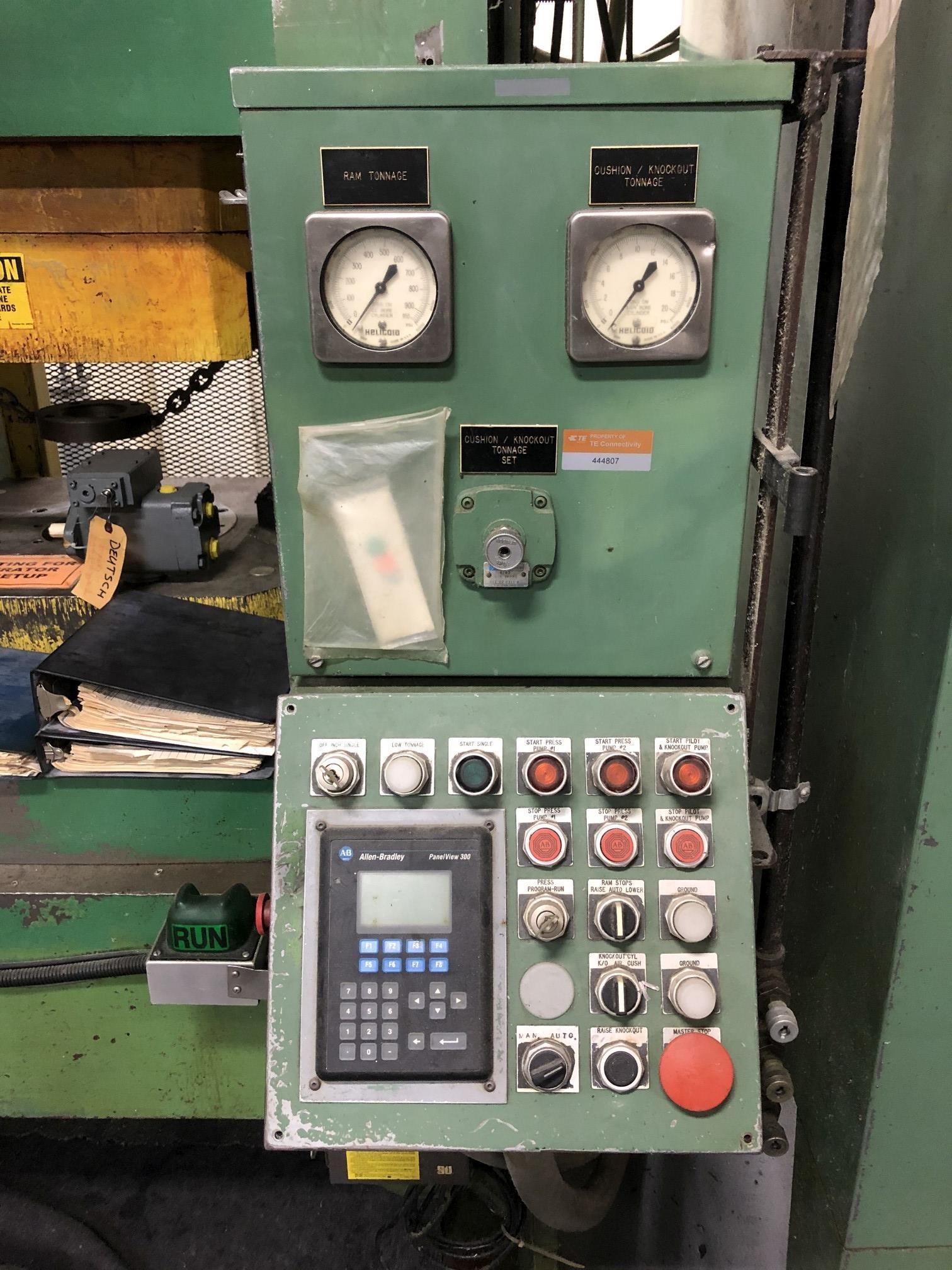570 Ton Advanced Machine Design Straight Side Press - Image 6 of 15