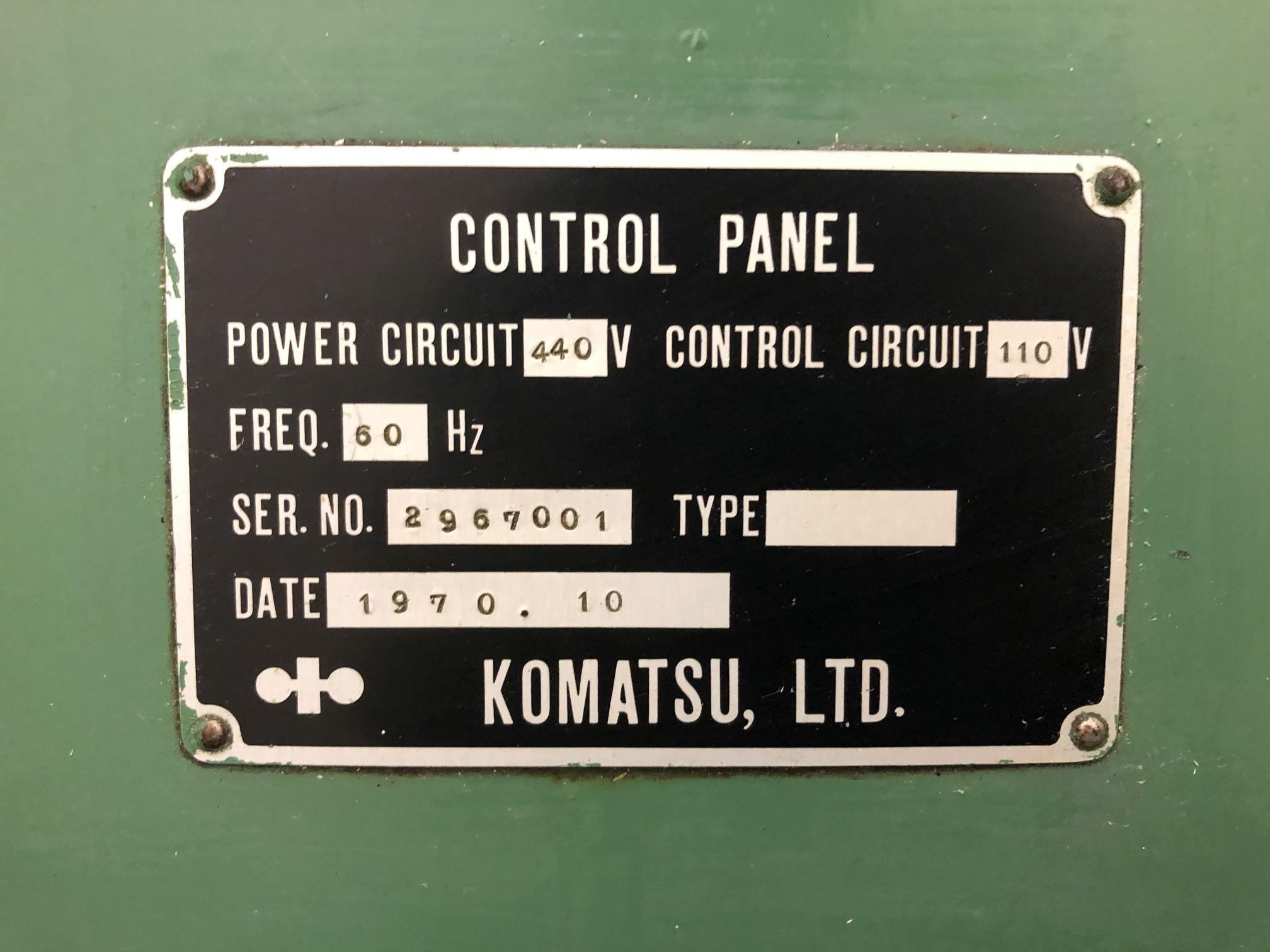 800 Ton Komatsu Maypress Knuckle Joint Press - Image 11 of 18