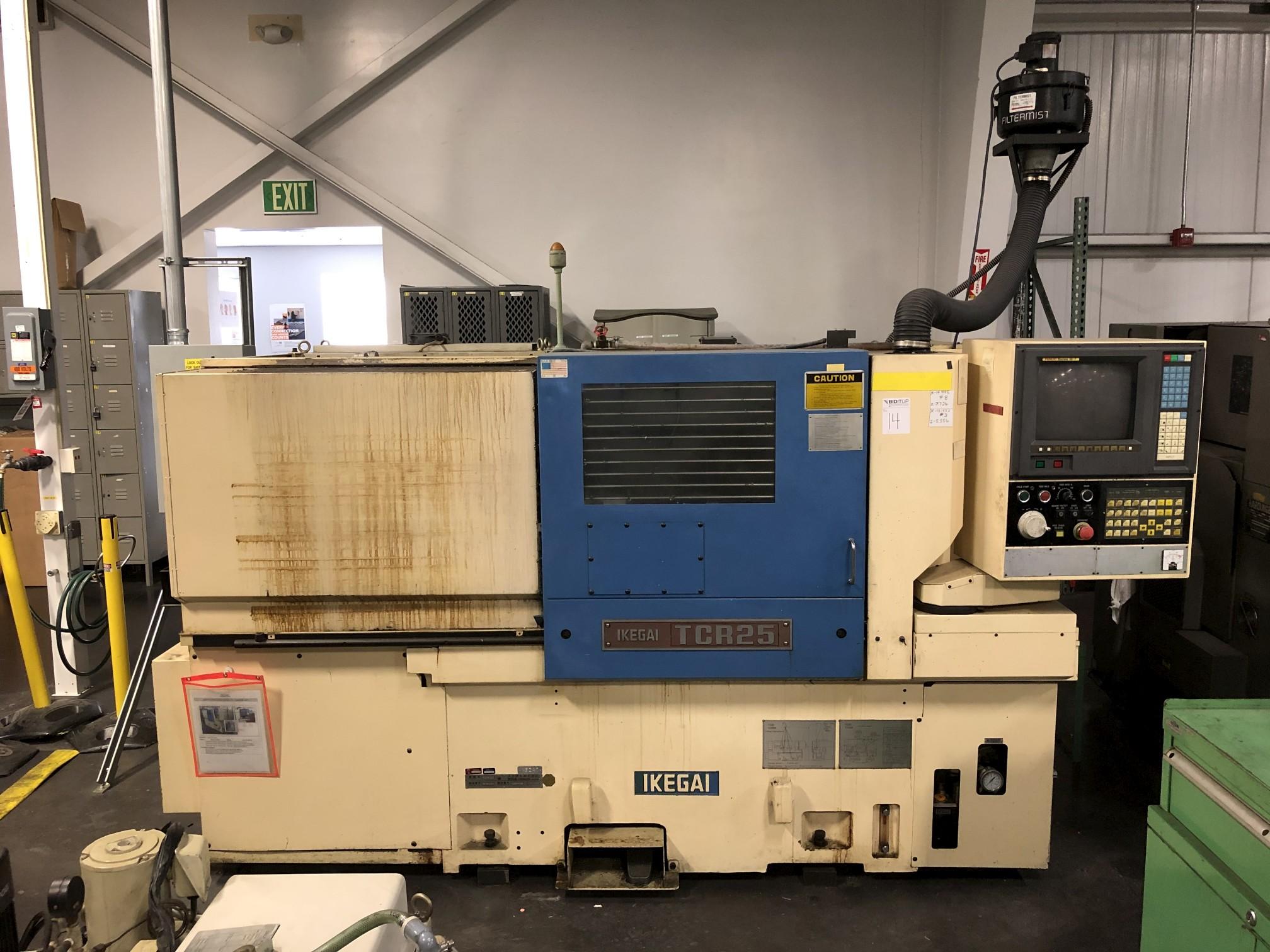 Ikegai TCR25 CNC Lathe