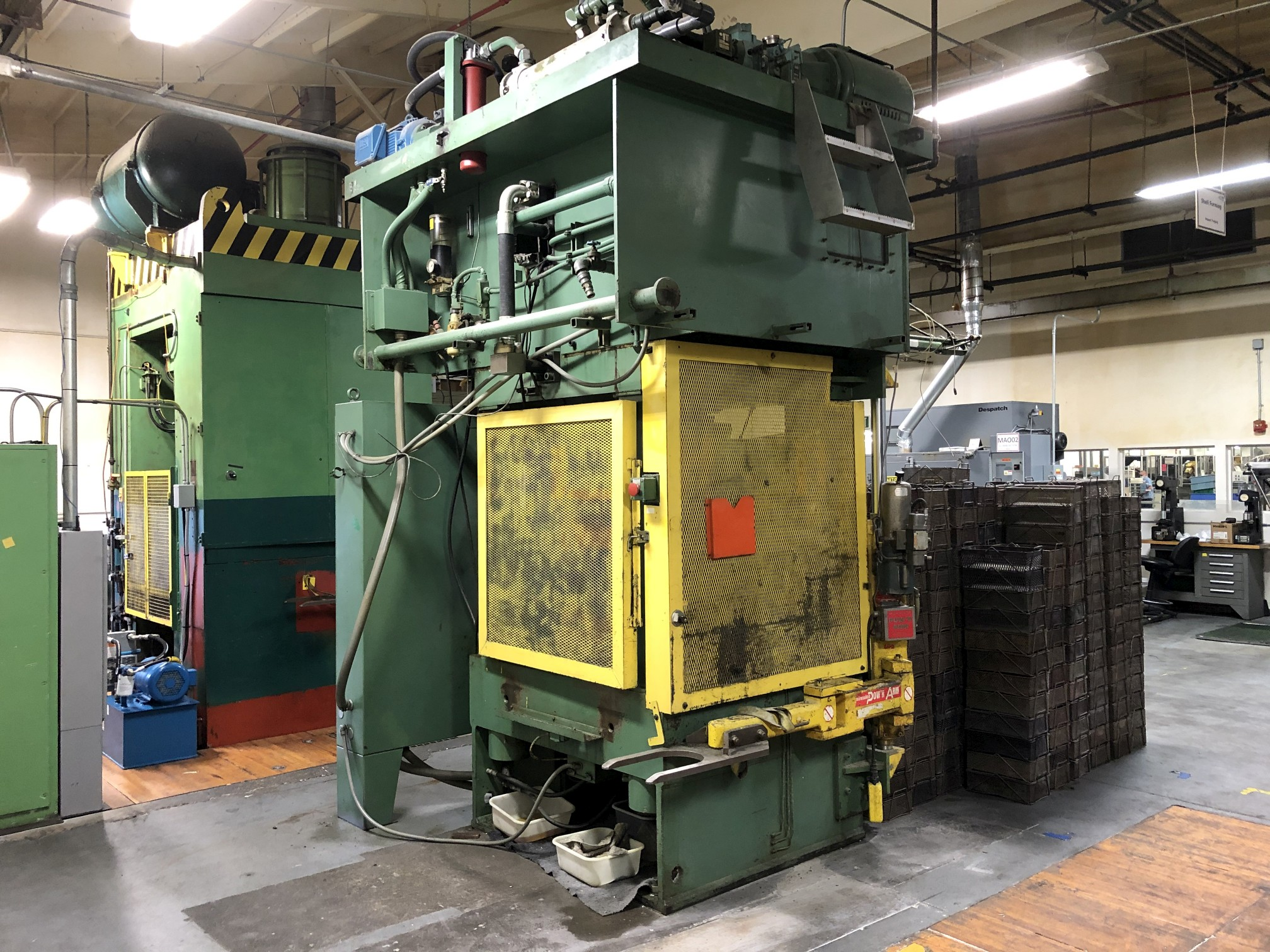 570 Ton Advanced Machine Design Straight Side Press - Image 9 of 15