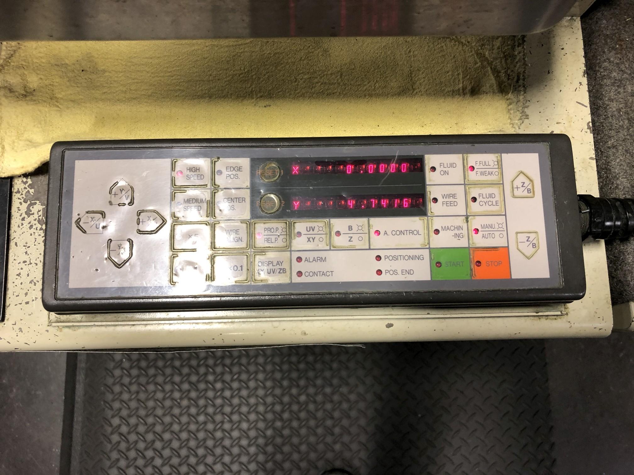 1988 Mitsubishi DWC90H CNC Wire EDM - Image 12 of 13