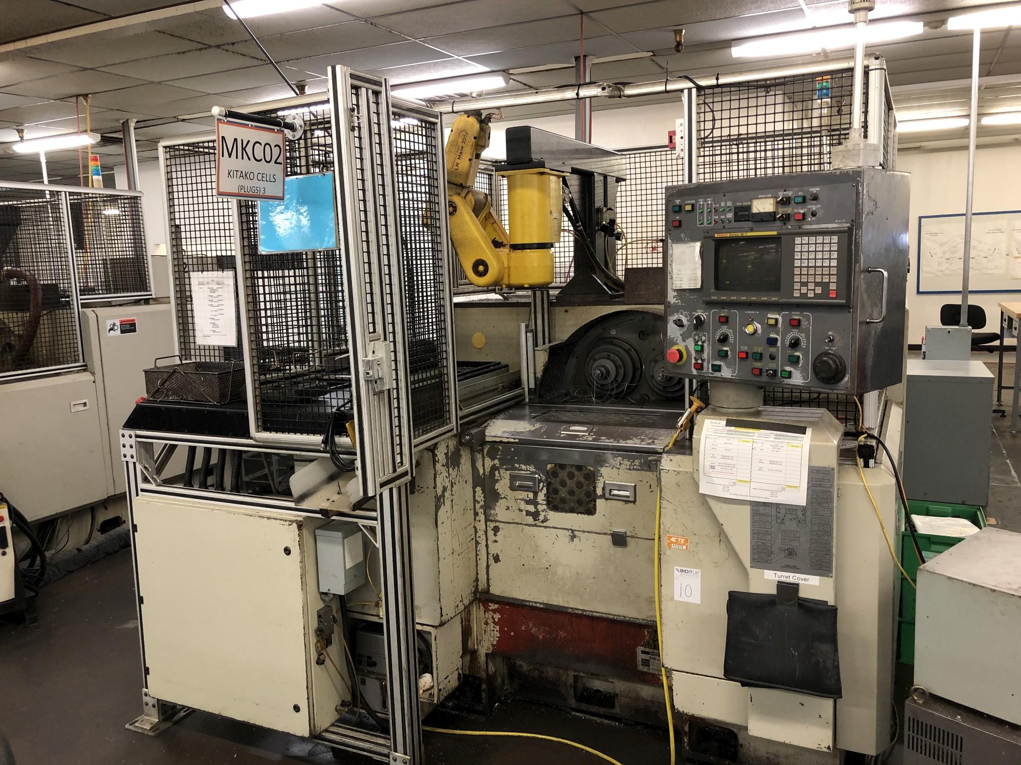 1999 Kitako MT4-200 Multi-Spindle CNC Turning Mill