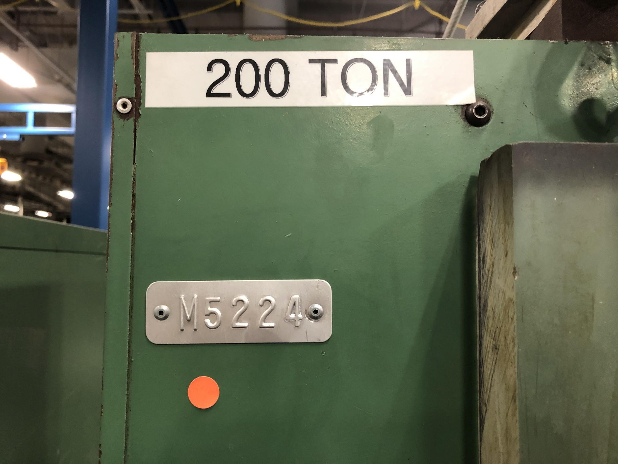 Dake 200 Ton Hydraulic Press - Image 6 of 6