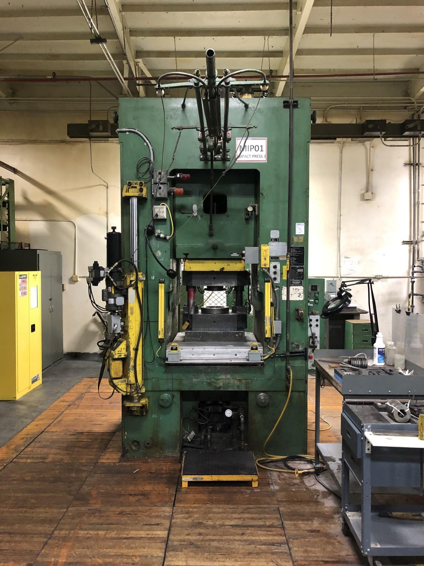 800 Ton Komatsu Maypress Knuckle Joint Press