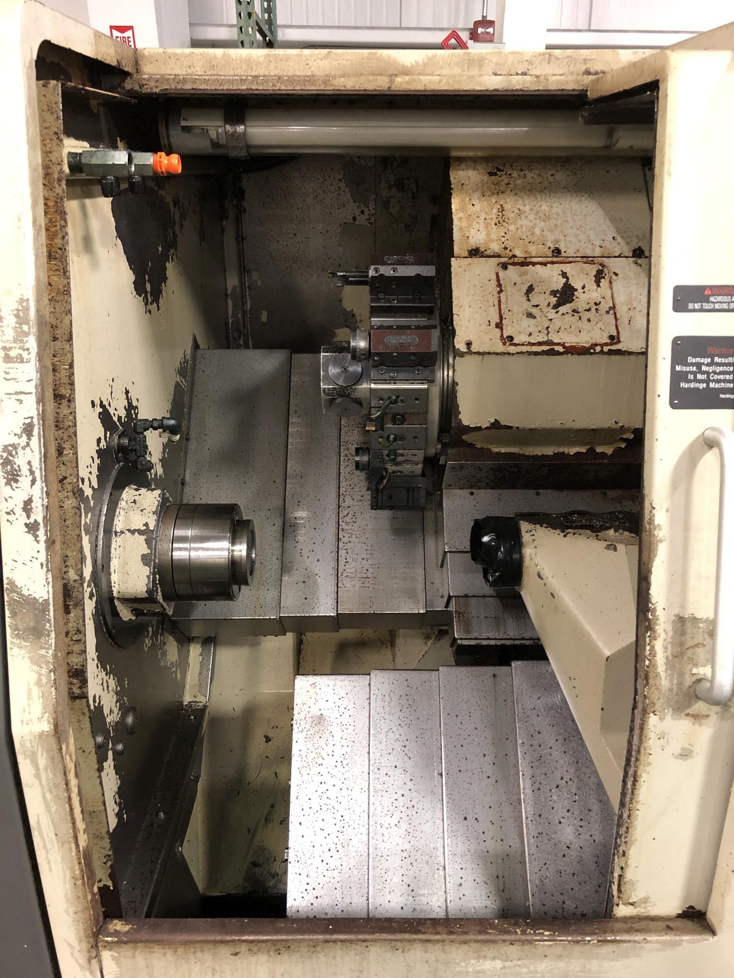 Hardinge Conquest 42 CNC Lathe - Image 3 of 11