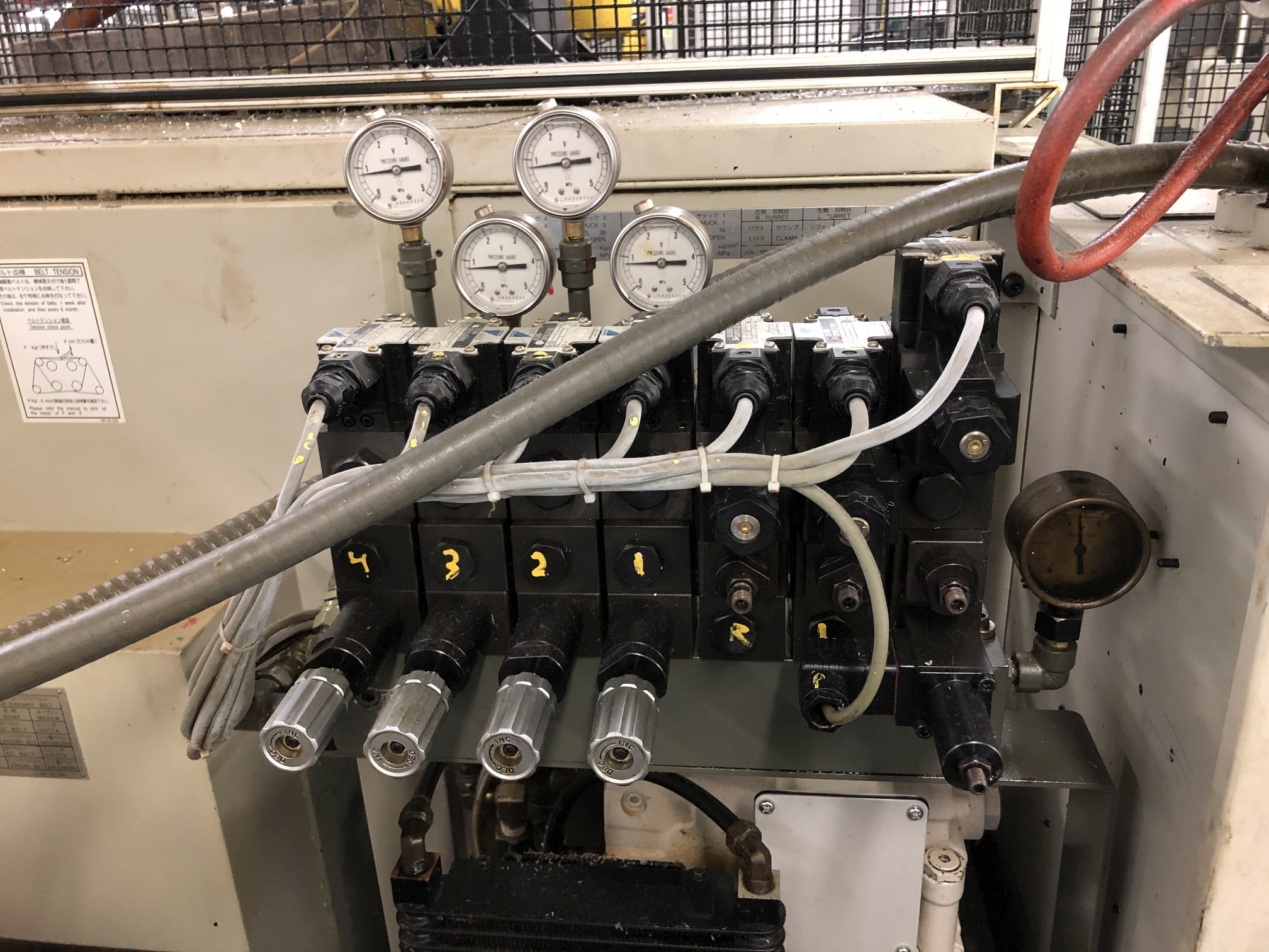1999 Kitako MT4-200M Multi-Spindle CNC Turning Mill - Image 13 of 19