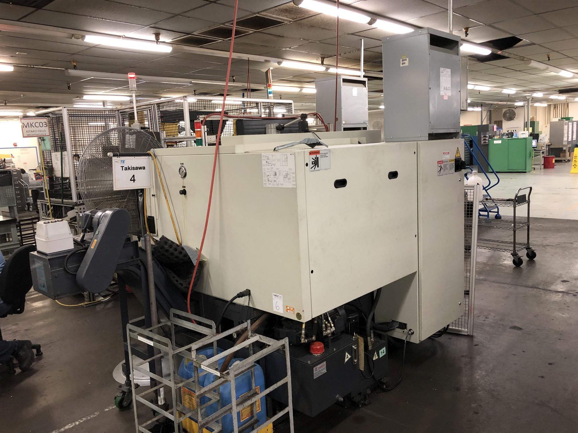 2006 Takisawa EX-106 CNC Lathe - Image 7 of 10