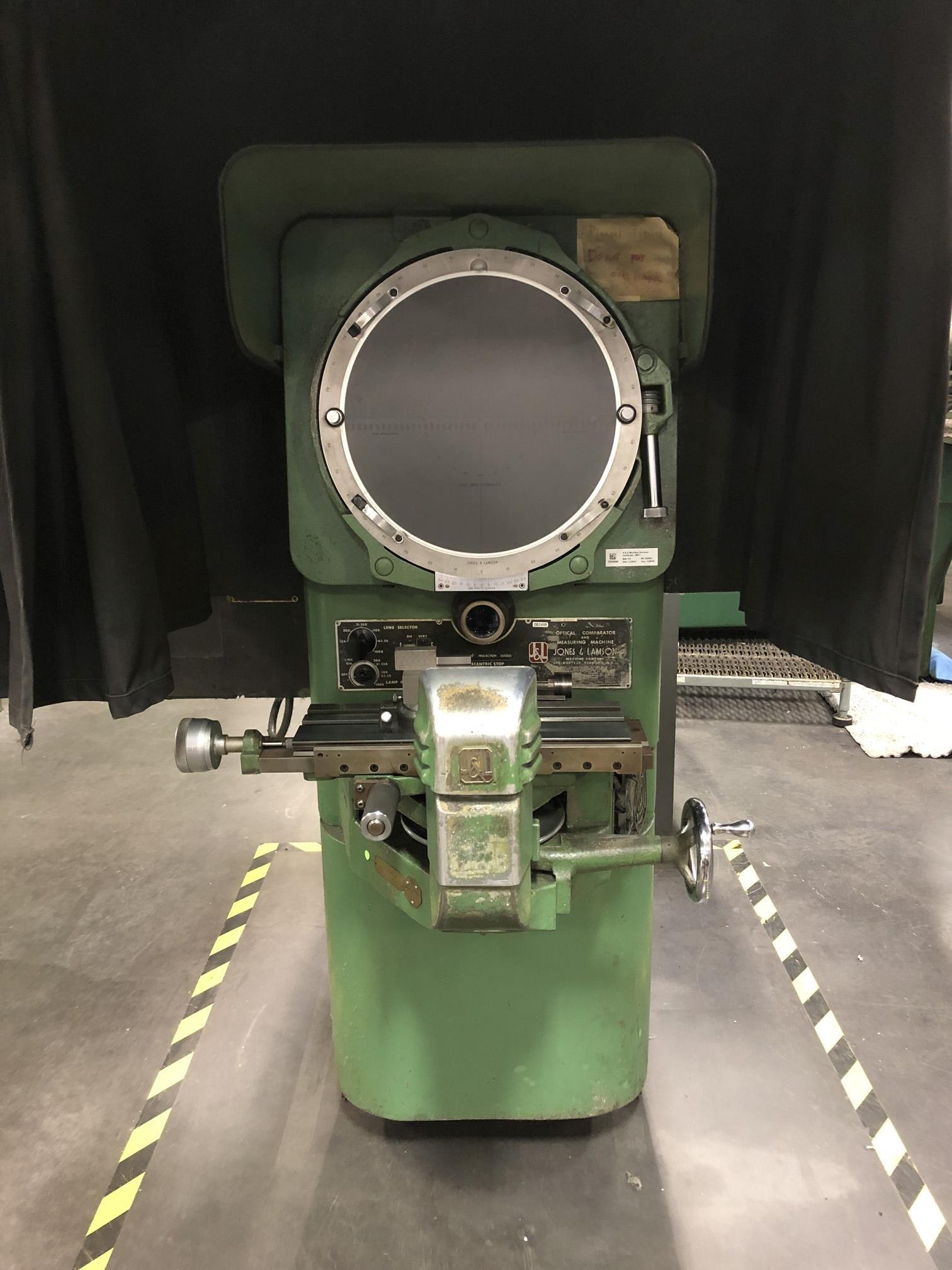 "Jones & Lamson 14"" Optical Comparator - Image 2 of 8"
