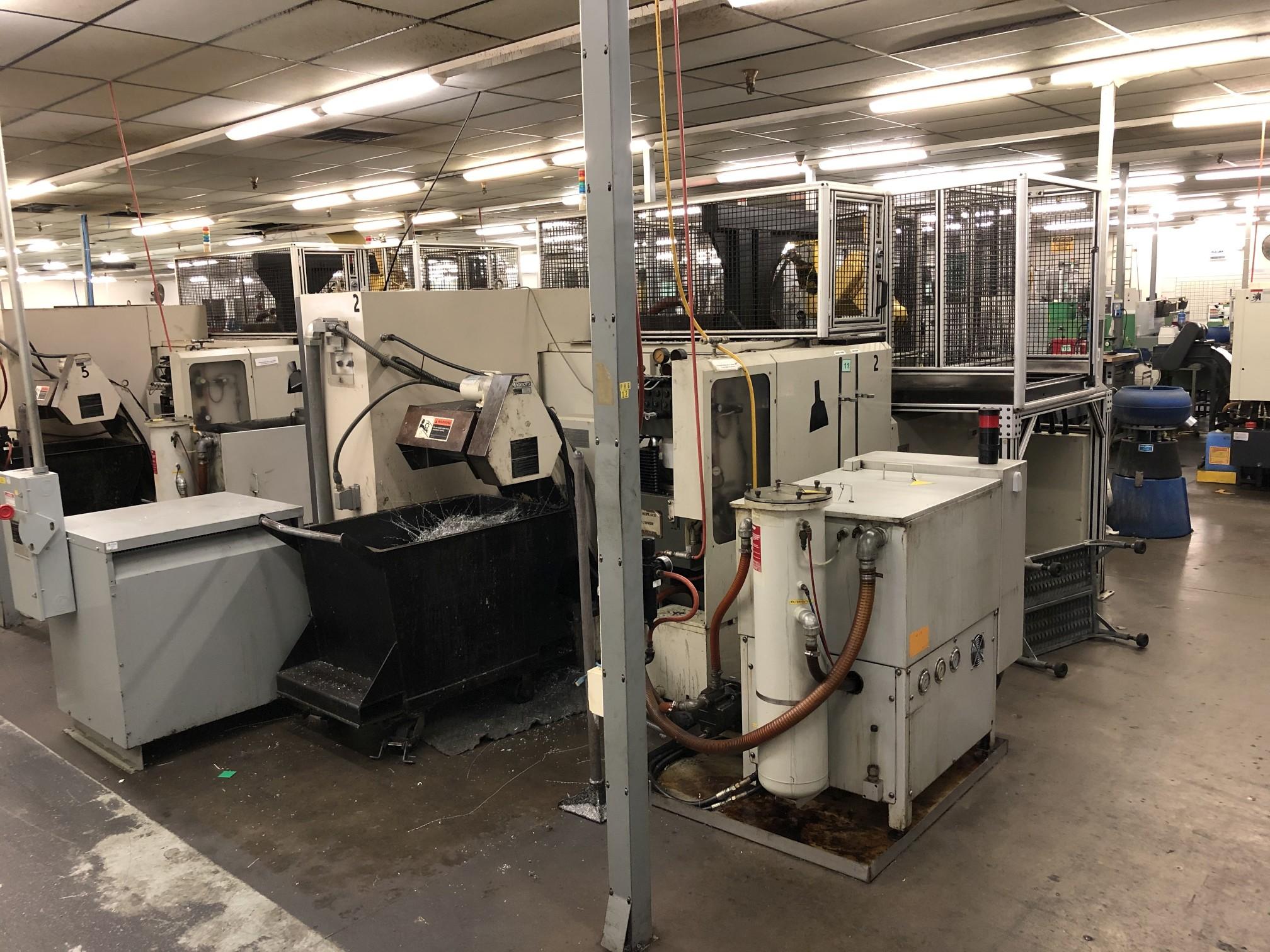 1999 Kitako MT4-200 Multi-Spindle CNC Turning Mill - Image 10 of 17