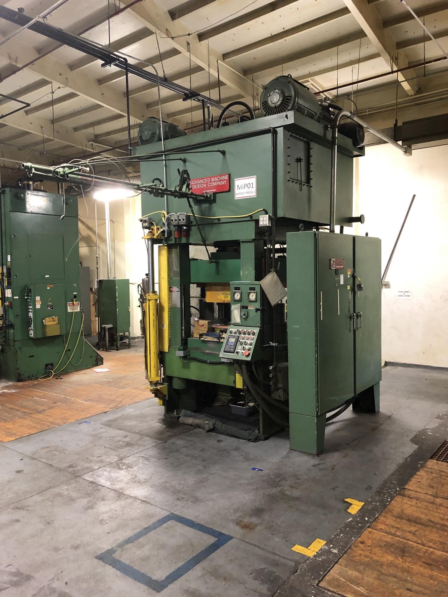 570 Ton Advanced Machine Design Straight Side Press - Image 3 of 15