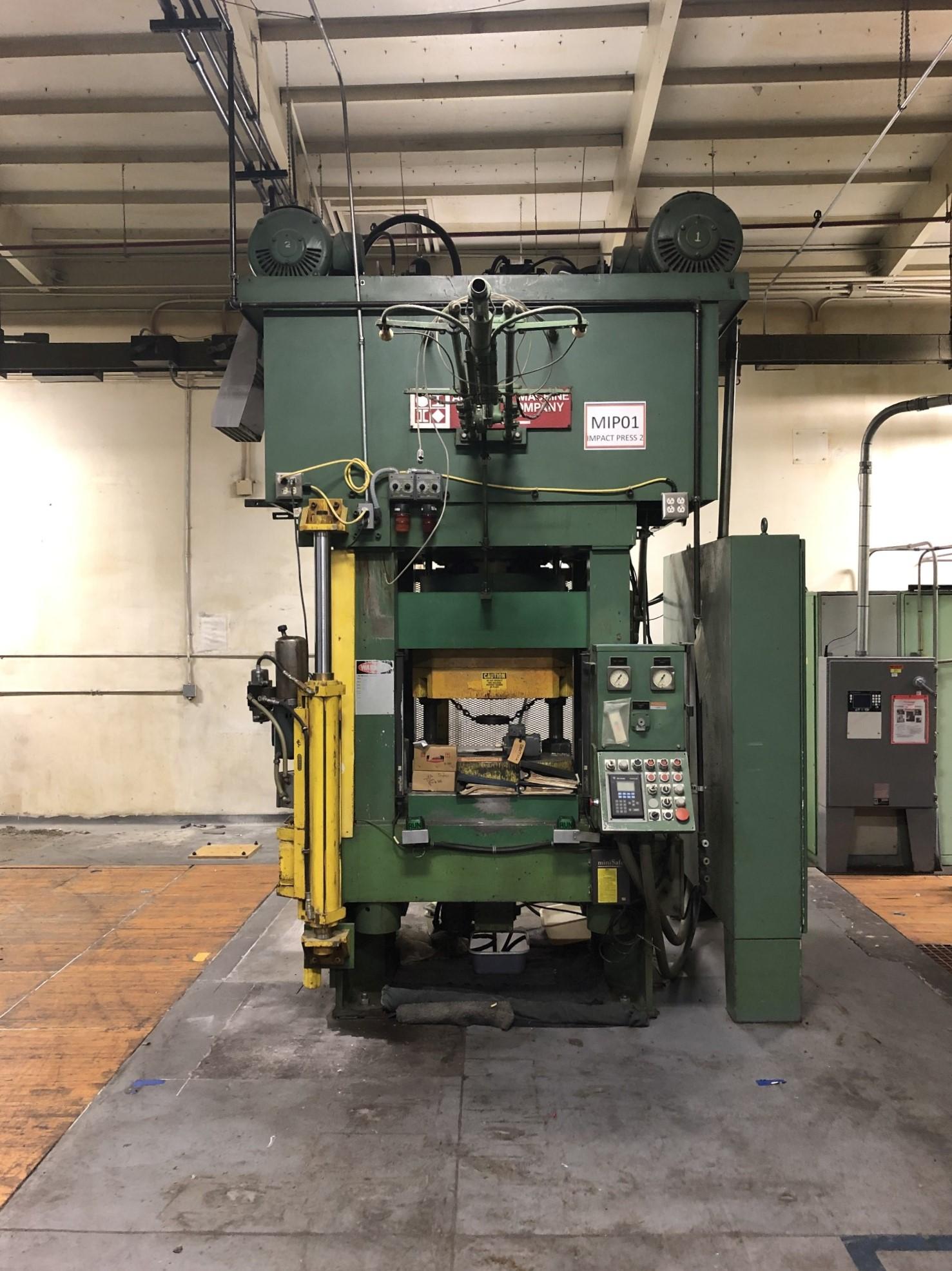 570 Ton Advanced Machine Design Straight Side Press