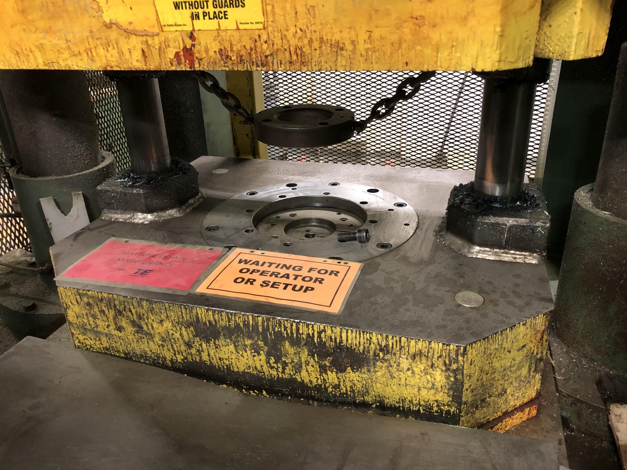 570 Ton Advanced Machine Design Straight Side Press - Image 5 of 15