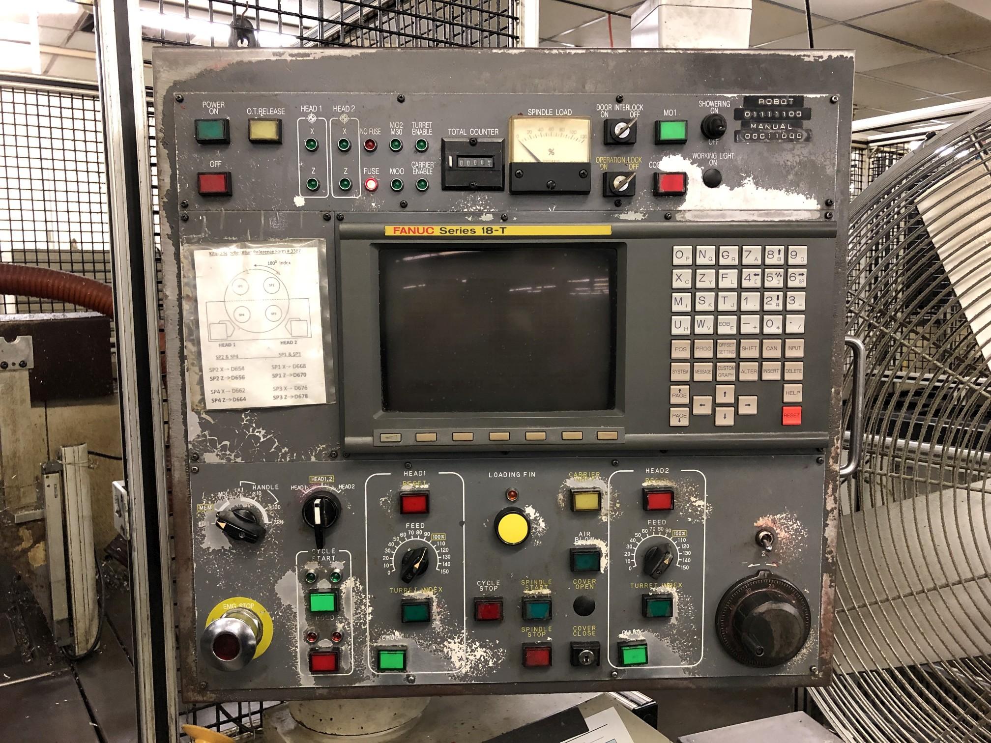 1999 Kitako MT4-200 Multi-Spindle CNC Turning Mill - Image 6 of 17