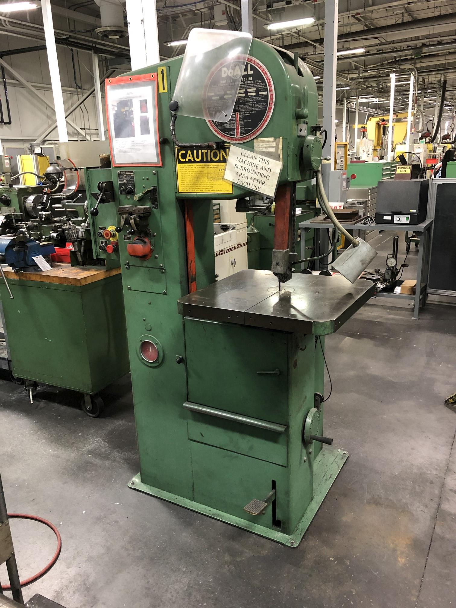 """DoAll 16"""" Vertical Band Saw"""