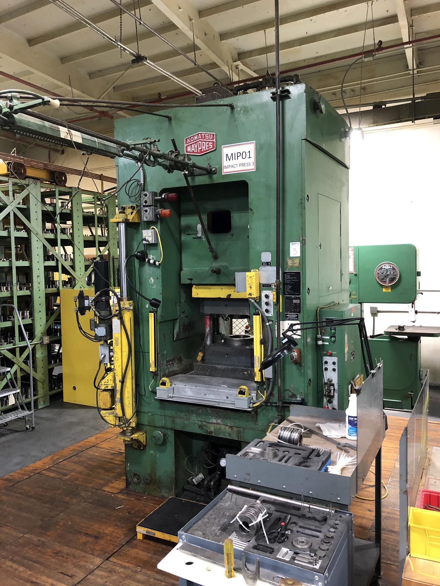 800 Ton Komatsu Maypress Knuckle Joint Press - Image 2 of 18