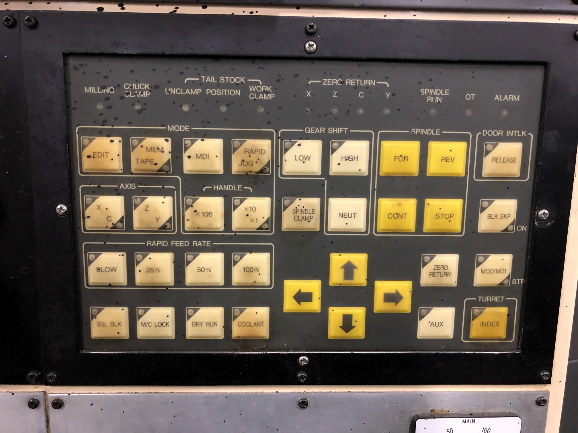 Ikegai TCR25 CNC Lathe - Image 9 of 15